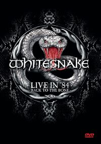 Cover Whitesnake - Live In '84 - Back To The Bone [DVD]